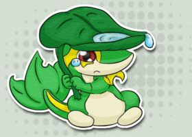 Scared Snivy