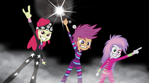 Cutie Mark Glam Rockers by Rainb0wDashie