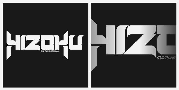 Hizoku Logo+Type Competition by woweek