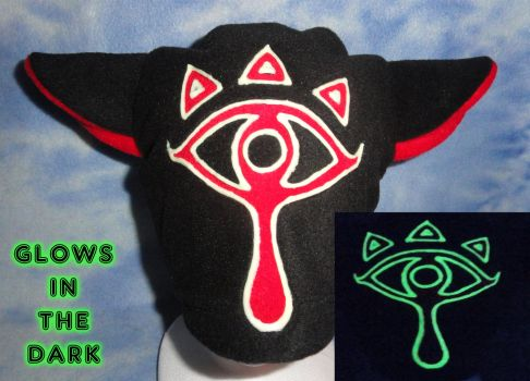 Sheikah Kitty Hat Glow in the Dark Zelda by HatcoreHats