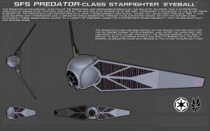 Predator-class Starfighter ortho [New] by unusualsuspex
