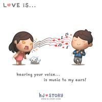 Love is music to my ears by hjstory