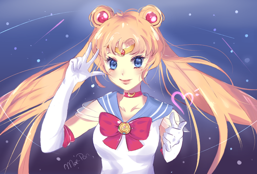 Usagi Tsukino - Sailor Moon by Moe-Pon
