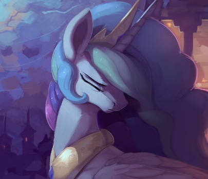 Celestia Moonlight by Rodrigues404