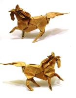 Another Origami Horse by Orestigami
