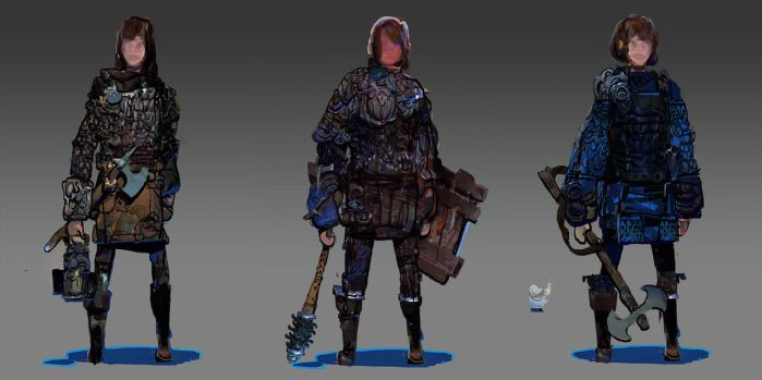Oppidum Character Tests by TomScholes