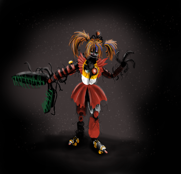 Scrap Baby from the shadows by B-Simon