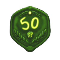 50 XP Plaque by ReapersSpeciesHub