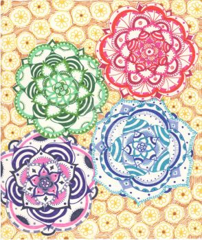 Mandala Fun.. by hearthmagick