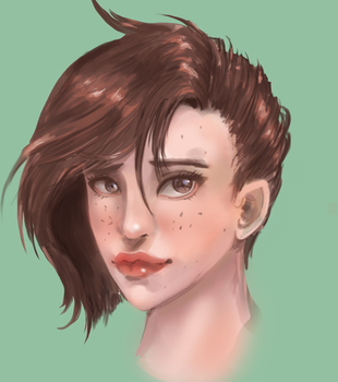 Portrait by Erydril