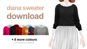 sentate diana sweater DOWNLOAD by jwsph