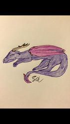 Day 15: Dragon (see description) by Sternenhimmel-Mond