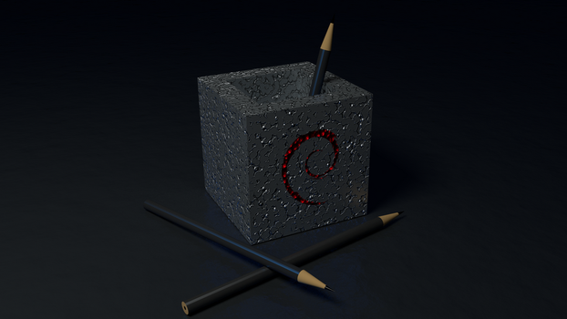 Debian Pencils by Lukazoid