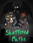 Shattered Paths: Cover by candyhighdraws