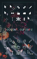 Bouquet Cursors by niivu