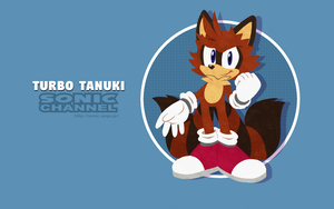 Sonic Channel TurboTanuki by TheDragonSuperFan