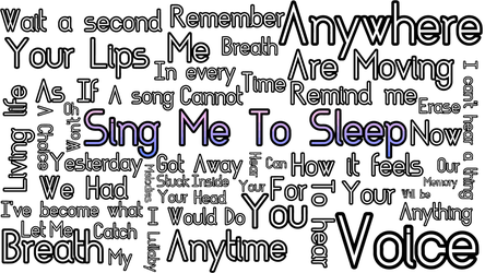Sing Me To Sleep (Fixed) by Dhiparizky