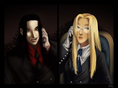 Hellsing - Phonesex by Irrel