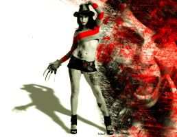 A Girl From Elm Street by kuzco890