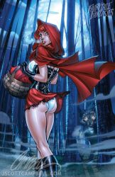 Not so little Red Riding Hood by J-Scott-Campbell