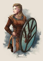 [Fanart] Lagertha - Vikings by LauraBevon