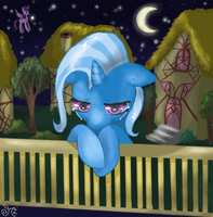 Trixie's night by ChibiWendy