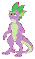 Lineless Spike {Collab of Some Sort} by AllieOllie