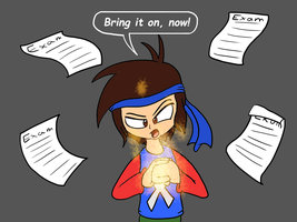 The Week of the Final Exams is coming! by JuacoProductionsArts