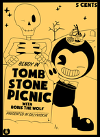 Bendy in: Tombstone Picnic by Gamerboy123456