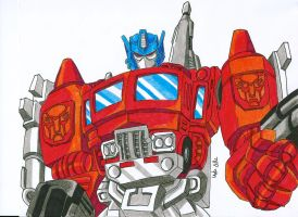 Optimus Prime by MikeES