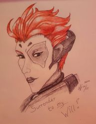 Overwatch - Moira by Seth19931