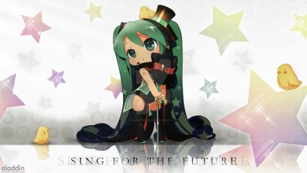 Sing For the Future by ala21ddin21
