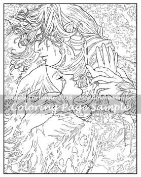 Art of Meadowhaven Coloring Page: Scars by Saimain