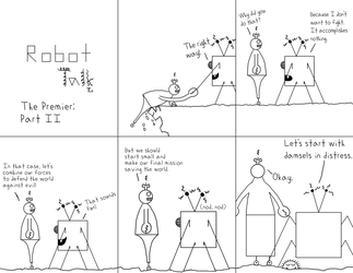 Robot Talk, Issue 2 by Down-Flower