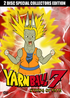 Yarn Ball 7 Parody DVD Cover by cobaltkatdrone