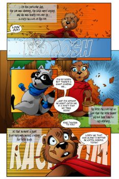 LGA Issue One Page Two by MJValle