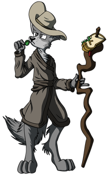 Fenrs: The Sandwich Mage by VengenceMkII