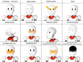 Papyrus Expression Meme by Artcompany