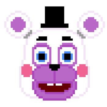 Helpy blink gif by crazycreeper529