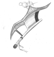 Soul Eater: oc weapon form by dragonman12