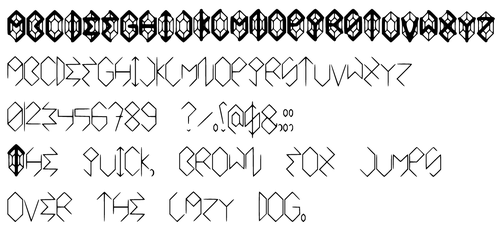 Rupee Font by GWBinvincible