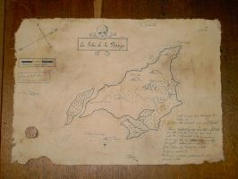 The Treasure Map of Captain Vane by Panthaleon