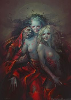 some undead people by apterus
