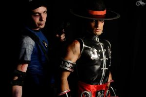 MK Blood to JE2012 - Kung Lao and Stryker Cosplay by LeonChiroCosplayArt