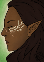 [DA:I] Inquisitor Lavellan by memo--ry