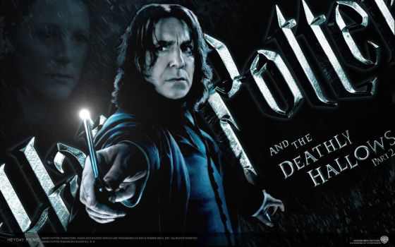 Harry Potter And The Deathly Hallows II Snape by ilqarmisag
