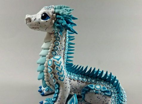 Polymer Clay Toothpaste Dragon by RaLaJessR