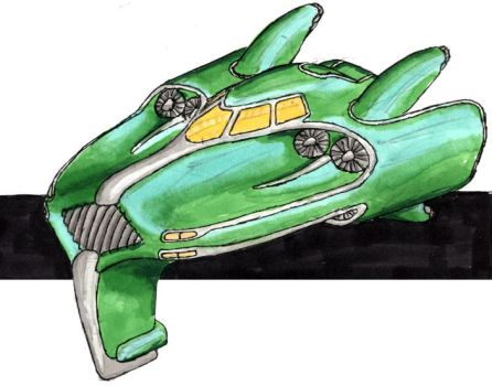 Posh Hover Car by IfritianIndustries