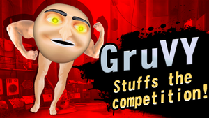 GRUvy for Smash Bros Ultimate. by MrSneakyPhotoShop
