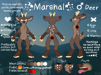 Marshal Reference Sheet by TheLastSolstice